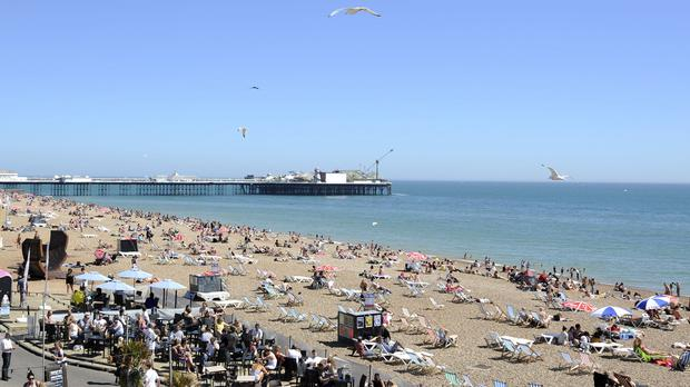 Brighton beach is among the places that might become smoke-free zones in the city