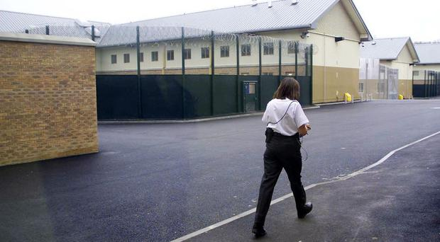Three asylum seekers say they are the victims of sexual exploitation but were wrongly detained on the fast track at Yarl's Wood, pictured, or Colnbrook