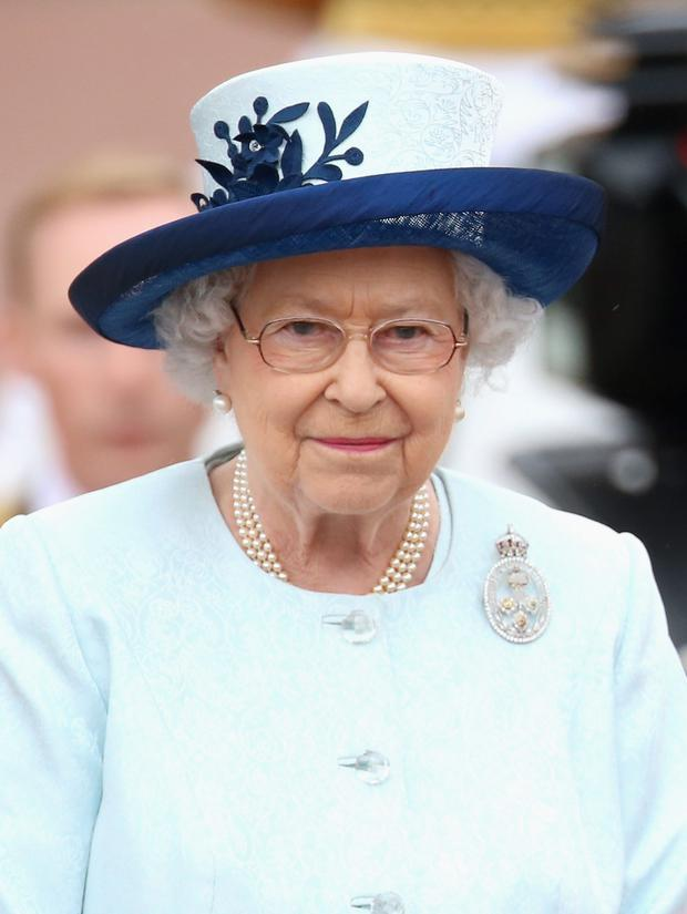 Home movie: Queen Elizabeth