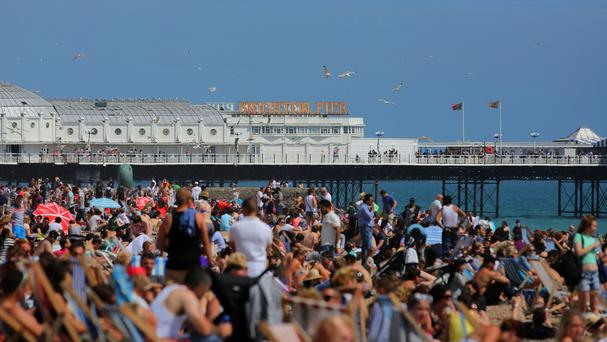 Brighton beach is among the places that might become smoke-free