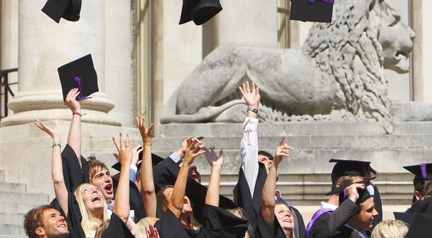 Poor students will leave university owing 12,500 pounds more than their wealthier counterparts, it is claimed