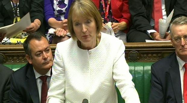 Acting Labour party leader Harriet Harman had urged Labour MPs to abstain