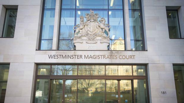 The two men will appear at Westminster Magistrates' Court