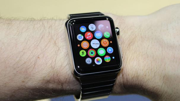 Apple was given the thumbs down by Wall Street as its latest update failed to provide much detail on the performance of its new smartwatch