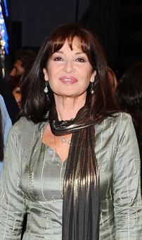 Tying knot: Stephanie Beacham