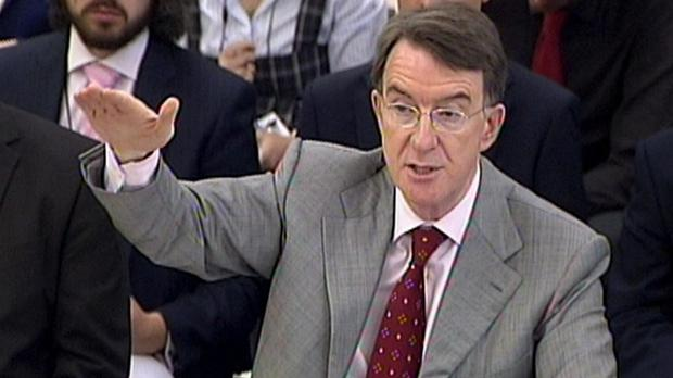 Lord Mandelson said Ed Miliband had left Labour with a terrible legacy