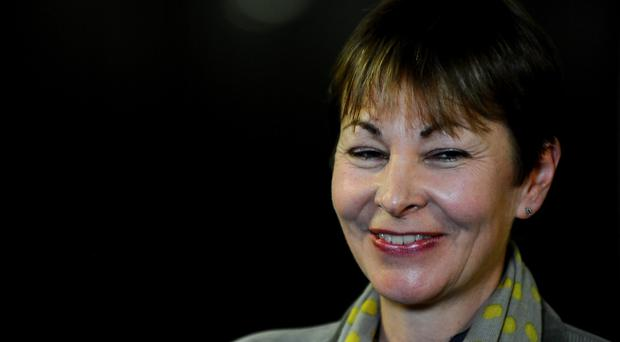 Caroline Lucas claims her communications are being intercepted by GCHQ