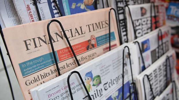 Talks are under way which could lead to the sale of the Financial Times Group