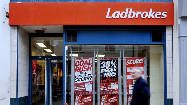 The merger brings together 2,100 shops from Ladbrokes and 1,845 from Coral