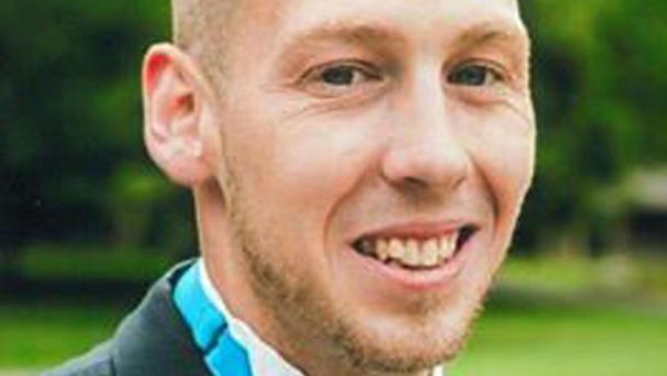 Telecoms engineer Matthew Harding - known as Matty - was working with a colleague when both men were hit by a Citroen Picasso. Mr Harding died of his injuries (West Midlands Police/PA).