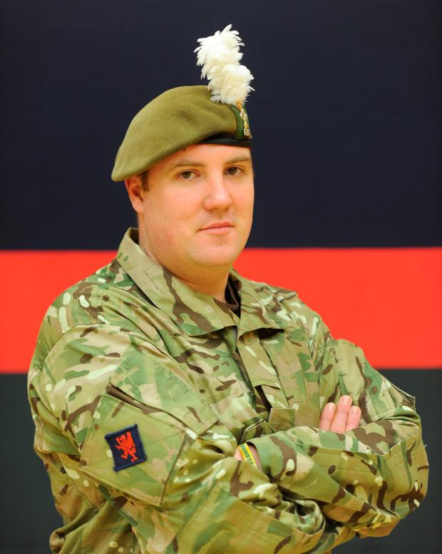 Lance Corporal Michael Campbell