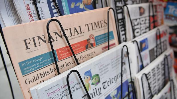 The Financial Times newspaper is being bought by a Japanese firm