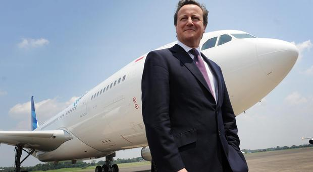 David Cameron is visiting South East Asia on a four-day tour