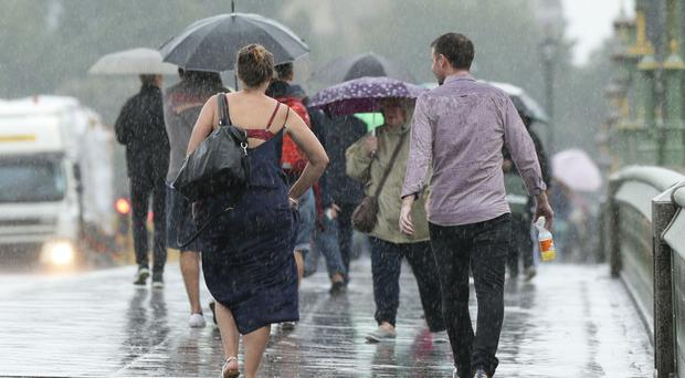After the heavy rain, strong winds are set to batter Britain