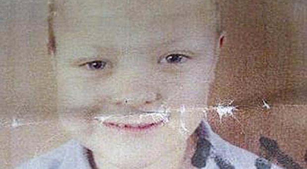 Conley Thompson, seven, was found dead on a building site