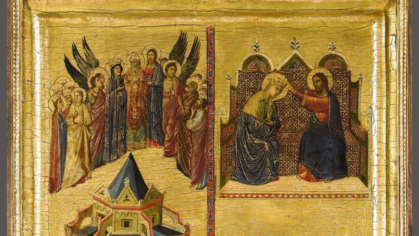 The work by Giovanni da Rimini had been sold by the Duke of Northumberland
