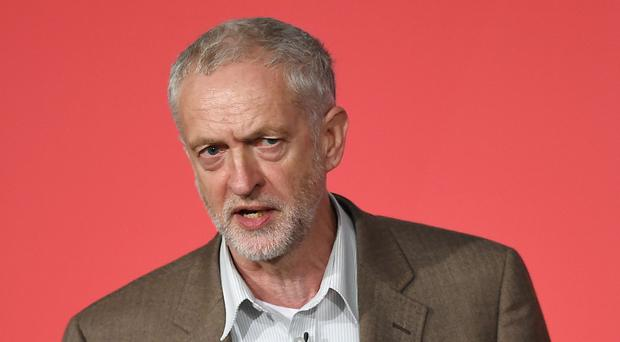 Left-wing Labour leadership contender Jeremy Corbyn