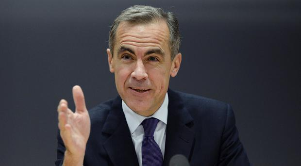 Mark Carney said that a decision about a rise in interest rates would 'come into sharper relief around the turn of this year'