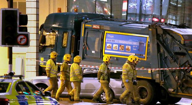 Harry Clarke was driving the council truck in Glasgow city centre on December 22 last year when it went out of control