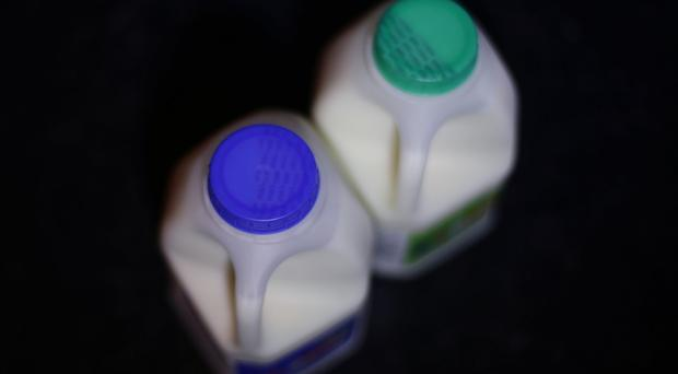 Farmers are protesting over the falling price of milk