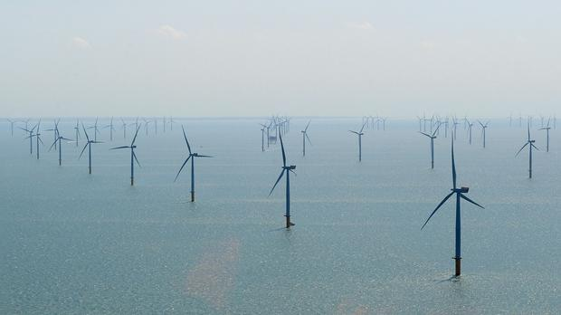 It is thought that two million homes will be able to be powered by the offshore wind farm
