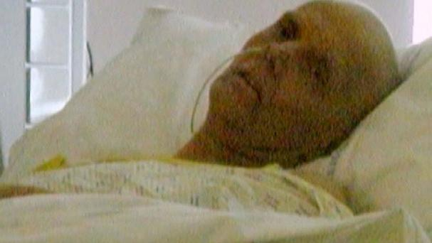 The last photo taken of poisoned spy Alexander Litvinenko alive