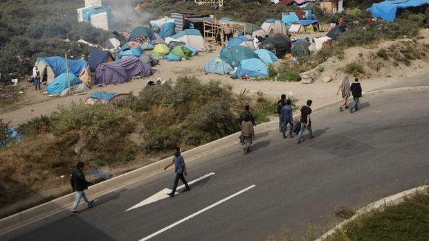 Songs Of Praise producers have been filming at a church in the area of Calais that includes the Jungle, it is reported