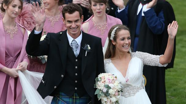 Andy Murray and his wife Kim Sears are reported to be expecting their first baby