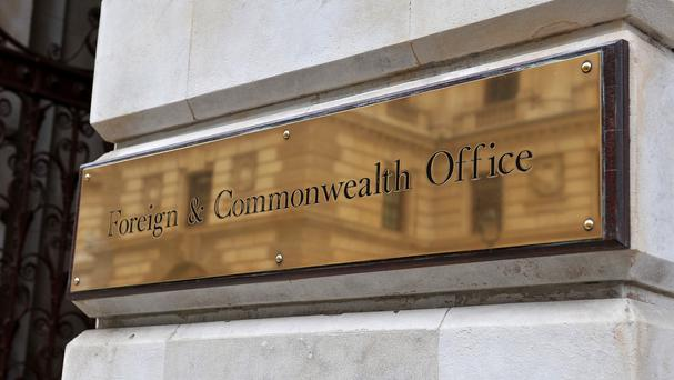 The Foreign Office said it was providing consular assistance