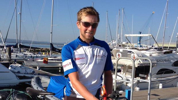19-year-old Tom Davies has raised almost £50,000 for charity