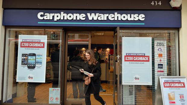 Carphone Warehouse said the sophisticated cyber attack was stopped straight away after its own systems discovered it
