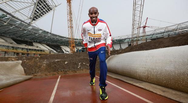Mo Farah said he was happy to do what it takes to prove he is a clean athlete