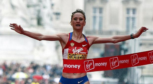 Liliya Shobukhova's 2010 Virgin London Marathon win has already been annulled