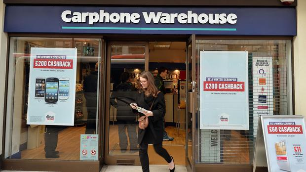 Carphone Warehouse said the cyber attack was stopped 'straight away' after its own systems discovered it on Wednesday