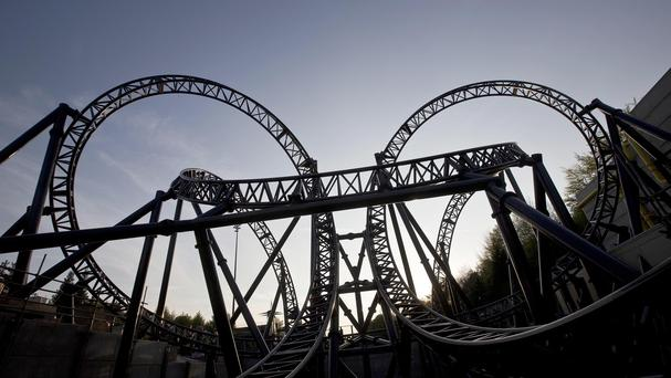 The Smiler ride at Alton Towers where Leah Washington was seriously injured