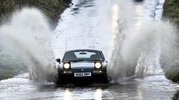 Forecasters are warning of floods after heavy rain