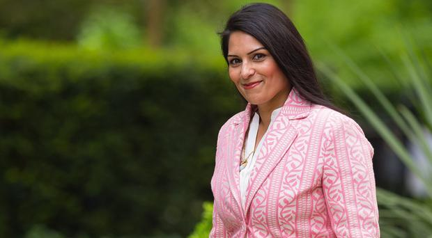 Priti Patel said a new government scheme aims to provide young people with 'valuable' working skills