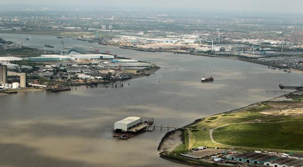 The shipwreck has lain in the Thames Estuary for 350 years
