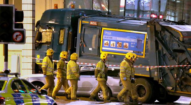 Harry Clarke was driving the bin lorry on December 22 last year when it went out of control, killing six people