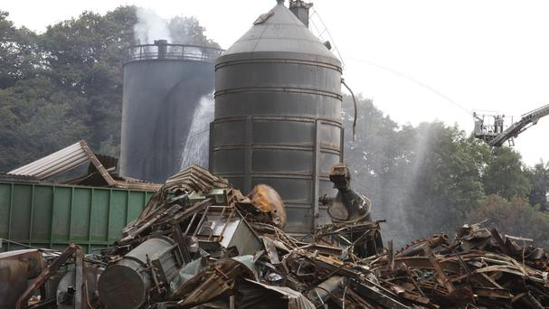 Four people died after the explosion at Wood Flour Mill in Bosley