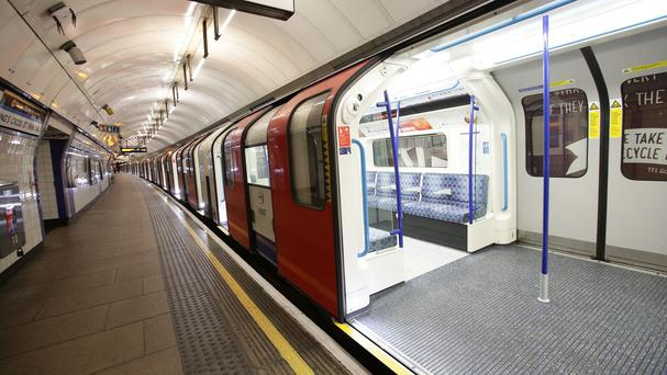 Armed officers halted the Victoria line service to board and search a carriage at King's Cross St Pancras Underground station
