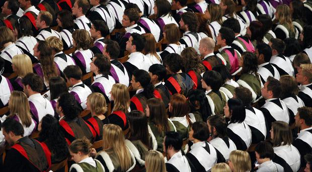 A record number of students will begin studying for a degree this year