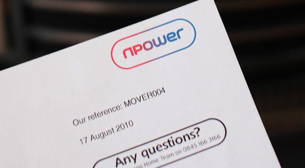 npower said retail energy supply profits tumbled 65% compared to the same period in 2014 to £38 million