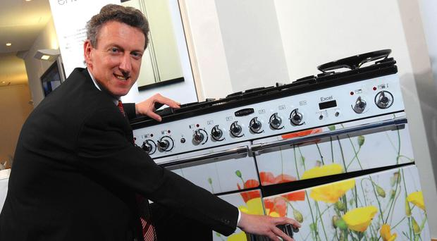 William McGrath of Aga hailed the tie-up with Middleby (Aga/PA)