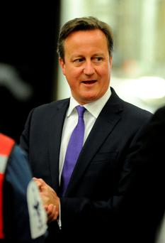 Recovered: David Cameron