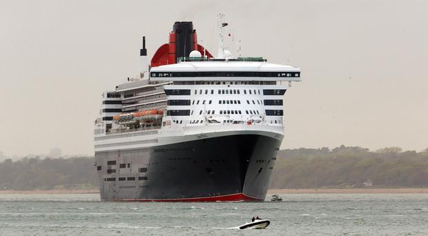 The Queen Mary 2 has called off the search for a missing crew member