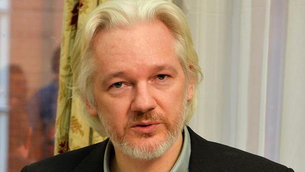 WikiLeaks founder Julian Assange remains at the Ecuador embassy in London