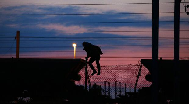 The number of migrants trying to get into the Eurotunnel terminal near Calais has fallen to about 150 per night from 2,000 at the end of July