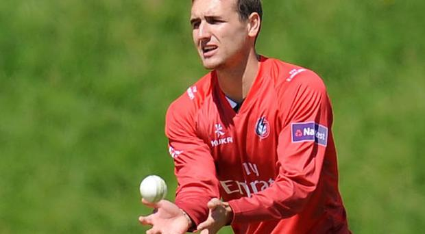 Lancashire cricketer Liam Livingstone played in Kent on Saturday
