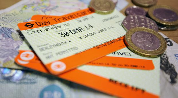 Rail fares have risen at a faster rate than wages over the last five years, a new report shows